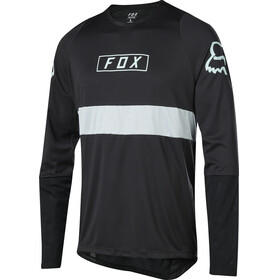 Fox Defend Fox Bike Jersey Longsleeve Men black/silver